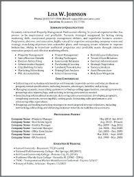 Resume Sample Restaurant Manager Samples Of Management Resumes Property More