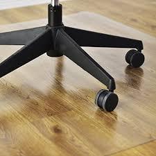 Goplus 47 X 59 PVC Chair Mat For Hard Floors Clear Multi Purpose Floor Protector