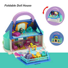 Wooden Delicate Dollhouse Furniture Toy Miniature Doll Houses Toys