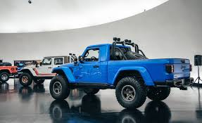 100 4 Door Jeep Truck J6 Concept 2 Pickup Revealed Gladiator Forum