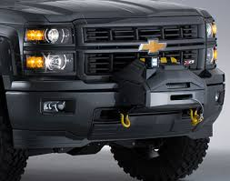 100 Concept Trucks 2014 Chevrolet Silverado Crew Cab 4x4 Black Ops