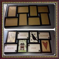 Primitive Decorated Bathroom Pictures by Diy Primitive Country Decor Picture Frame Before After Used Home
