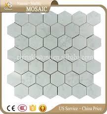 kbstone sale carrara white marble mosaic tile lowes