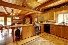 Rustic Log Cabin Kitchen Ideas by 27 Quaint Rustic Kitchen Designs Tons Of Variety