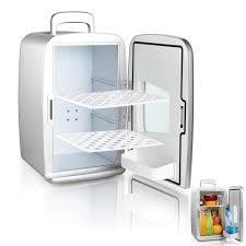 mini frigo de bureau mini frigo réfrigérateur 14l portable argent achat vente