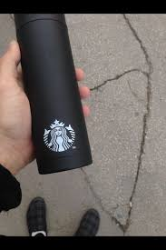 BLACK STARBUCKS COFFEE CUP On The Hunt