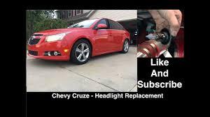 chevy cruze headlight replacement