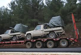 100 Military Pickup Trucks Turkish Troops Enter Kurdish Enclave In Northern Syria Sarasota FL