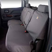 Covercraft SSC8424CAGY F-150 Rear Seat Cover SeatSaver Carhartt ... Bench Seat Covers Deluxe Cover For Pets Kurgo Truck Camo Chevy S Ford F Toyota Tacoma Rear 0915 Double Cab Gray Regal Tweed For Pickup Trucks Semicustom Fit Remarkable Home Concept With 50 Unique Rochestertaxius Small Velcromag Custom Amazoncom Ksbar Pet Car With Anchors Cars Covercraft F150 Front Seatsaver Polycotton 2040 51959 Chevroletgmc Standard Pleats