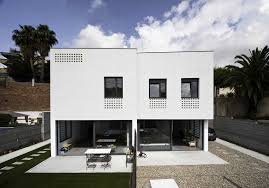 100 Semi Detached House Designs Two Detached S In Barcelona CAVAA Arquitectes ArchDaily