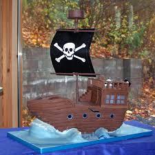 Pirate Ship Birthday Cake