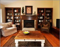 Frightening Rustic Leather Living Room Furniture Best Cool With Brown Sofa Amusing