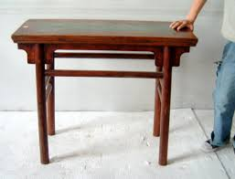 Boxer Rebellion Rustic Antique Chinese Farm Table