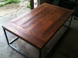 natural finish for barnwood table top