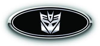 100 Ford Truck Decals Transformers Overlay Logo Emblem StickerSkinDecal AutoGrafix