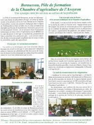 chambre d agriculture recrutement bernussou ca12 site de formation de la chambre d agriculture