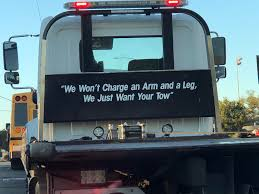 The Slogan On This Tow Truck... : Funny
