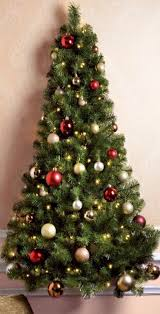 7ft Artificial Christmas Trees Homebase by Half Christmas Tree 9 Foot Westbrook Pine Half Christmas Tree All
