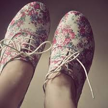 Shoes Floral Vintage Flowers Spring Summer Tumblr