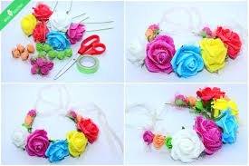 Cool Paper Crafts For Tweens Hand Made Flower Crowns Are Great Accessories One Can Wear To