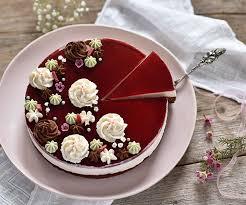 schoko himbeer sauerrahm torte b b s bakery