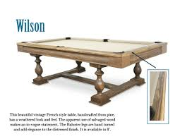 Dining Room Pool Table Combo Canada by Contemporary Trends Robertson Billiards