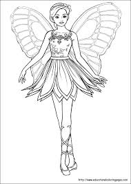 Fairies Coloring Pages Free For Kids
