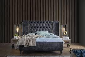 weltew schlafzimmer set mit stauraumbett lizbon grau