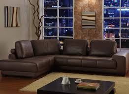 Dark Brown Couch Living Room Ideas by Brown Leather Couch Good For A Family With Young Children Easy