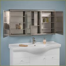 tri view medicine cabinet with lights home design ideas