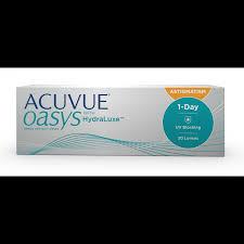 1 Day Acuvue Moist For Astigmatism 30 Lenses UK Shopping Stores