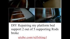 diy repair my king size platform bed 1 of 3 youtube