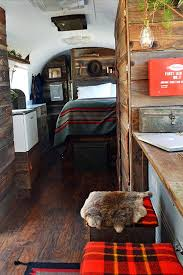 Airstream Before And After Wooden Interior