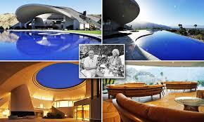 100 John Lautner For Sale Bob Hopes Spaceship House Undergoes Restoration Using Architect