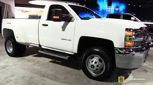 100 Chevy 3500 Truck 2017 Chevrolet Silverado HD Exterior And Interior Walkaround