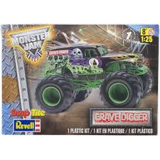 Revell SnapTite Grave Digger Monster Truck Plastic Model Kit, Scale ... Grave Digger Rhodes 42017 Pro Mod Trigger King Rc Radio Amazoncom Knex Monster Jam Versus Sonuva Home Facebook Truck 360 Spin 18 Scale Remote Control Tote Bags Fine Art America Grandma Trucks Wiki Fandom Powered By Wikia Monster Truck Spiderling Forums Grave Digger 4x4 Race Racing Monstertruck J Wallpaper Grave Digger 3d Model Personalized Custom Name Tshirt Moster