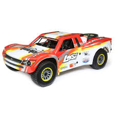 Losi 1/6 Super Baja Rey 4WD Desert Truck Brushless RTR With AVC (Red)