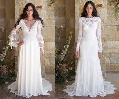 Rustic Wedding Dresses And Gowns For A Country