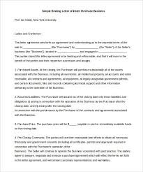 Simple Letter Intent – 11 Free Word PDF Documents Download