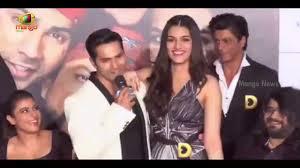 Varun Dhawan ments Kriti Sanon Height & Their Romance In