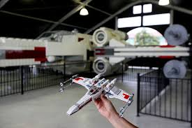 Lego X Wing Stand by Life Size Lego Star Wars X Wing Starfighter Debuts At Legoland