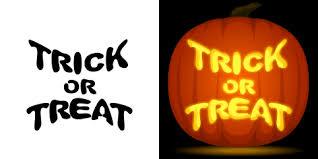 Minecraft Pumpkin Stencils Free Printable by Trick Or Treat Pumpkin Carving Stencil Free Pdf Pattern To