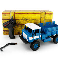 WPL B-24 1:16 4WD RC Military Truck 4CH 2.4GHz Wireless Remote ...
