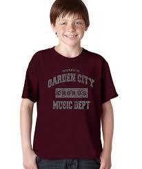 Property of Garden City Middle School Chorus T Shirt