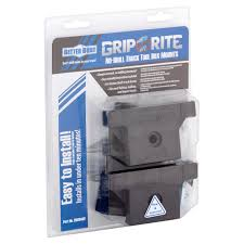 Better Built Grip Rite No-Drill Truck Tool Box Mounts - Walmart.com