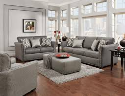 Makonnen Charcoal Sofa Loveseat by Living Room Furniture Urban Furniture Outlet Delaware