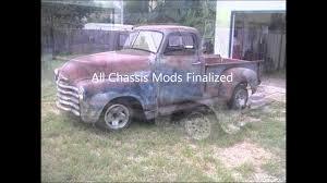 100 1950 Chevy Truck Frame Swap Chevy Truck On S10 Frame Boborg