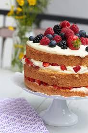 ichbacksmir eine cake beerenbiskuit torte