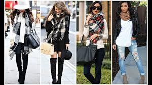 Trendy Ways To Wear A Scarf