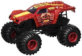2017 Hot Wheels Monster Jam Max-D RED Maximum Destruction + Hot ... Hot Wheels Monster Jam 124 Diecast Alien Invasion At Hobby Dragon Blast Challenge Play Set Amazoncom Scale Mega Rex Vehicle Image Ccp73 Hot Wheels Monster Jam Smashup Station Track Set Team Firestorm Trucks Wiki Fandom Powered Mutants Thekidzone Jual Crusader Di Lapak Bancilik 164 Assorted Big W Brick Wall Breakdown Track Shop The Warehouse Mainan Anak Hot Wheels Monster Jam 21572 Random 25th Anniversary Collection Toysrus